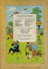 Verso de Tintin (Historique) -8B30- Le sceptre d'Ottokar
