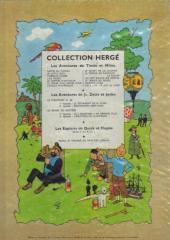 Verso de Tintin (Historique) -9B12bis- Le crabe aux pinces d'or