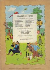 Verso de Tintin (Historique) -13B29- Les 7 boules de cristal