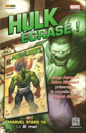 Verso de X-Men Select (Marvel France) -2- Peur à asgard