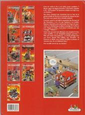Verso de Les pompiers -3a2010- Le feu de l'amour