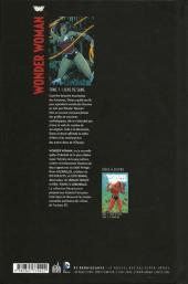 Verso de Wonder Woman (DC Renaissance) -1- Liens de Sang