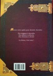 Verso de Chevaliers - Journal d'un héros -1- Livre 1
