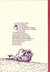 Verso de Le borgne gauchet -14- Le Borgne Gauchet au centre de la terre