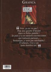Verso de Outlaw -2- Barres à mines et coyotes roses