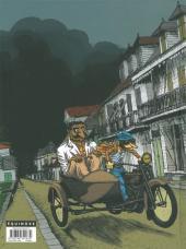 Verso de La grippe Coloniale -2- Cyclone la Peste
