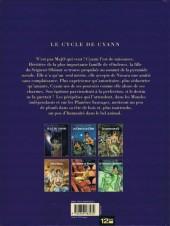 Verso de Le cycle de Cyann -5- Les Couloirs de l'Entretemps