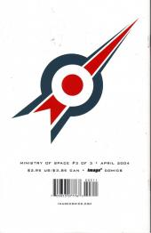Verso de Ministry of Space (2001) -3- Issue 3 of 3