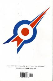 Verso de Ministry of Space (2001) -2- Issue 2 of 3