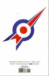 Verso de Ministry of Space (2001) -1- Issue 1 of 3