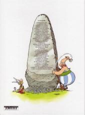 Verso de Astérix (en langues étrangères) -16Portugais- Astérix entre os Helvécios