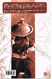 Verso de 5 Ronin -D- La Voie du samouraï