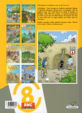Verso de Les vélo Maniacs -8- Tome 8