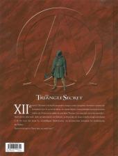 Verso de Le triangle Secret - I.N.R.I -3a- Le Tombeau d'Orient