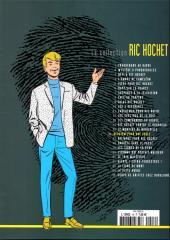 Verso de Ric Hochet - La collection (Hachette) -16- Requiem pour une idole