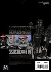 Verso de Zero In - À bout portant -11- Volume 11
