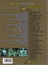Verso de Le jour où... -2- 1987-2012 : France Info, 25 ans d'actualités