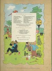 Verso de Tintin (Historique) -17B37- On a marché sur la lune