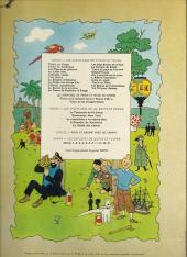 Verso de Tintin (Historique) -12B37- Le trésor de Rackham Le Rouge