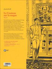 Verso de Agatha Christie (Emmanuel Proust Éditions) -22- Le couteau sur la nuque
