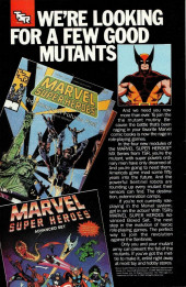 Verso de New Mutants (The) (1983) -61- Our Way !