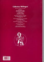 Verso de Chick Bill (collection BéDingue) -5- L'étrange Mr Casy Moto