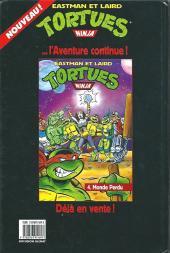 Verso de Tortues ninja (Comics USA - spécial USA)) -5- Confrontation