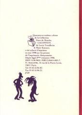 Verso de Galopinot - Tome 41