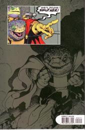 Verso de Monkeyman & O'Brien (1996) -2- The invasion of the Froglodytes !
