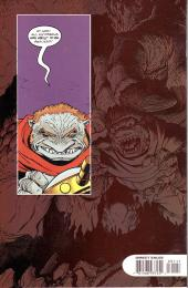 Verso de Monkeyman & O'Brien (1996) -1- Attack of the Shrewmanoid !