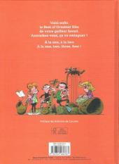 Verso de Gaston (Hors-série) - Lagaffe en musique
