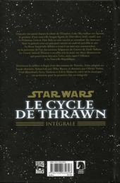 Verso de Star Wars - le cycle de Thrawn (Delcourt) -INT- Star Wars - Le cycle de Thrawn - Intégrale