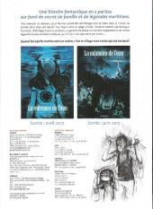 Verso de La mémoire de l'eau -1DP- Première partie