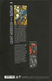 Verso de Batman (Grant Morrison présente) -1- L'Héritage maudit