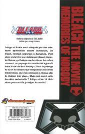 Verso de Bleach -HS4- Memories of Nobody - Anime Comics