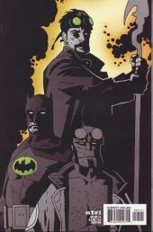 Verso de Batman/Hellboy/Starman (1999) -1- Book one: Gotham grey evil
