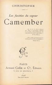 Verso de Le sapeur Camember -a1898- Les facéties du sapeur Camember
