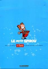 Verso de Le petit Spirou - Mes pires gags La compil' qui déchire