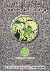 Verso de Amer béton -1- Volume 1