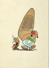 Verso de Astérix -10a1971- Astérix légionnaire
