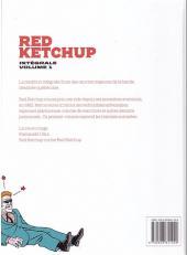 Verso de Red Ketchup (La Pastèque) -INT01- Red Ketchup Intégrale volume 1
