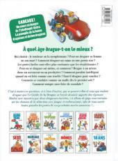 Verso de Le guide -7c12- Le guide de la drague