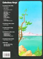 Verso de Tintin - Divers -C3b01- Tintin et le lac aux requins