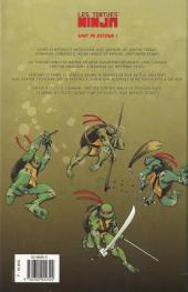Verso de Les tortues Ninja (Soleil) -2- Ennemis un jour...
