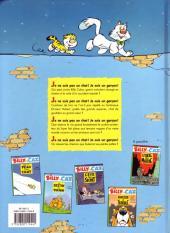 Verso de Billy the Cat -3a1996- L'été du secret