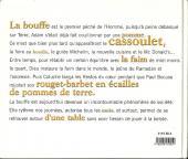 Verso de Illustré (Le Petit) (La Sirène / Soleil Productions / Elcy) - La Bouffe illustrée de A à Z