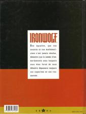 Verso de Ironwolf - Les feux de la révolution