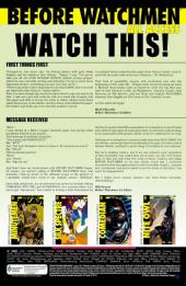 Verso de Before Watchmen: Minutemen (2012) -1- Minutemen 1 (of 6) - Eight minutes
