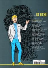 Verso de Ric Hochet - La collection (Hachette) -19- Les signes de la peur