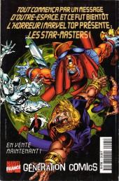 Verso de X-Men (Marvel France 1re série - 1997) -5- Colossus agonise!